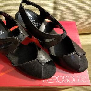 Aerosoles Gintegrity Open Toe Sandals Sz 7.5 NWB